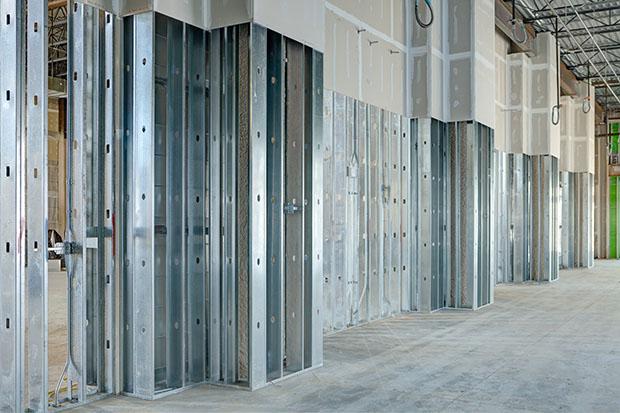 metal framing drywall - Drywall Framing